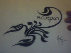 scorpio tattoos - Google Search