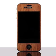 Wood iPhone Cover Bubinga from Everlane $15... Totally getting this when I get an iPhone.