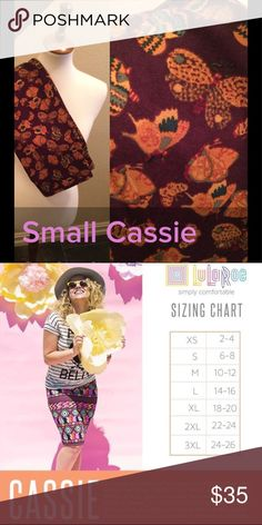 LuLaRoe Cassie Size S NWT We have tons more to list. helping a friend liquidate her inventory. So let us know what your looking for and we will see what we have in your size. She is open to offers as well. Jewelry is Park Lane! We can get those items too! Create a bundle for you. LuLaRoe Skirts Pencil