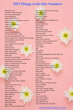 100 things to do this summer with your kids. Lots of ideas in this blog post to help keep kids busy. #kidsactivities #parenting #summerholidays Paper Aeroplane Making, Family Days Out Uk, Lego Engineering, Pie Game, Pick Your Own Fruit, Blog Website Design, 100 Things To Do, Play Shop, Play Day