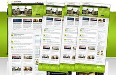 Excentrixx: Free PSD WordPress Template