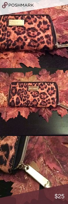Leopard print Betsey Johnson wallet Super cute leopard wallet by Betsey Johnson. Betsey Johnson Bags Wallets