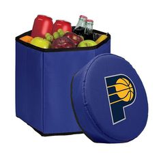 Picnic Time Indiana Pacers Bongo Cooler, Blue (Navy)