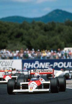 1988 Paul Ricard Marlboro Mclaren MP4-4 Alain Prost