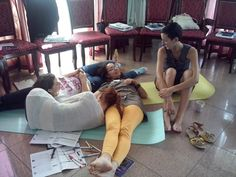 Chilling during trainings in our Leadership Summer Academy - Teach for Romania  #academiaTfR