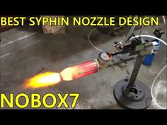 Waste oil burner nozzle Design Principle MASTERED DIY prt3 - YouTube