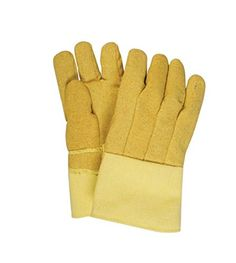 National Safety Apparel G51PBRW14137 Kevlar Reverse Wool Lined Heat Resistant Gloves with 14 Gauntlet Cuff Large 10 oz ** Continue to the product at the image link.(This is an Amazon affiliate link and I receive a commission for the sales)