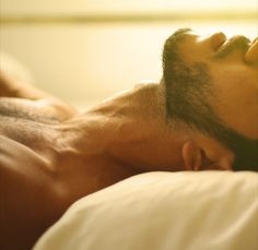 For the love of bearded men    I would not complain waking up next to that...