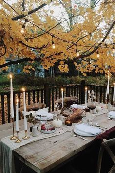 How to Host an Outdoor Thanksgiving