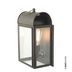 Domed Box Wall Light 7250, by England's Davey Lighting #brasswalllight