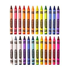 Wax Crayons, Color Crayons, Crayola Box, Intermediate Colors, Primary And Secondary Colors, Homeschool Supplies, Crayon Set, School Art Projects, Paint Party