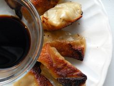 Chinese Pork Potstickers - Once A Month Meals - Freezer Cooking - Freezer Meals - OAMC
