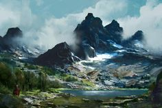 Digital Landscape, Alp Altiner on ArtStation at http://www.artstation.com/artwork/digital-landscape-b97e817f-b57e-408f-8c24-2fcd3cedf9dc