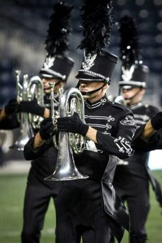 Killer new uniforms. Actually got to see one of the last shows of them wearing their previous ones.