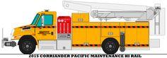 2015 Corriander Pacific Maintenance Hi Rail by mcspyder1.deviantart.com on @DeviantArt