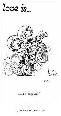 El amor es ... calienta motores!