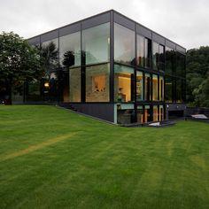 little boxes, glass boxes, black house, office buildings, yellow brick road, architecture, black box, brick hous, glass houses