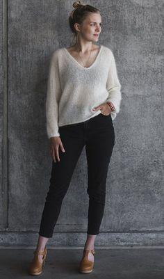 Kumulus bluse - PetiteKnit Pulls, Mantel, Aarhus, Knitting, Chic, Crochet, Outfits, Dresses, Design