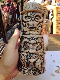Hitchhiking Ghosts tiki mug from Disneyland's Trader Sam's.