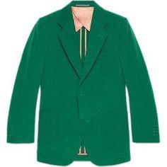 Gucci Retro Slim Wool Jacket as seen on Jared Leto
