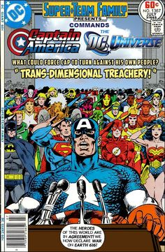 Super-Team Family: The Lost Issues!: Captain America commands The DC Universe