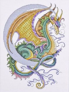 Celestial Dragon Counted Cross-Stitch Kit by Design Works Crafts, Inc., http://www.amazon.com/dp/B004I1OOD6/ref=cm_sw_r_pi_dp_kdhzqb0QQZ7DF