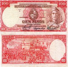 100 pesos Uruguay 1939