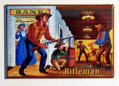 "Vintage THE RIFLEMAN  Lunchbox 2"" x 3"" Fridge MAGNET"