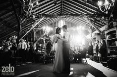Wedding First Dance In A Barn - Rustic & Intimate - Zelo Photography - see more at www.zelophotoblog.com/blog
