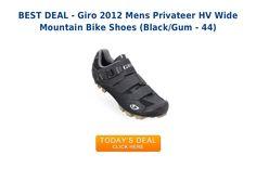 Giro 2012 mens privateer hv wide mountain bike shoes black gum