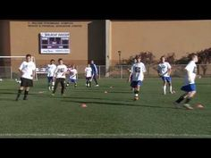 Soccer Training - Warm Up Drills 2 - YouTube
