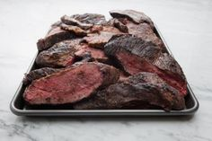 Sesame Ginger TriTip: Use a Tri-Tip steak or roast for this recipe and adjust the cooking time accordingly. The Asian flavors in this marinade make this a great steak. Tri Tip Steak Recipes, Beef Tri Tip, Roast Recipes, Grilling Recipes, Cooking Recipes, Smoker Recipes, Lamb Recipes, Asian Recipes, Chicken Recipes