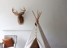 6 ft standard fold away teepee by houseinhabit on Etsy