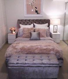 Bedroom Ideas For Small Rooms Women, Small Room Decor, Small Room Design, Room Ideas Bedroom, Small Room Bedroom, Home Decor Bedroom, Bedroom Furniture, Diy Bedroom, Design Bedroom