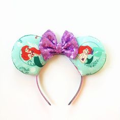 Designer Clothes, Shoes & Bags for Women Disney Ears Headband, Ear Headbands, Disney Minnie Mouse Ears, Mickey Ears, The Little Mermaid, Ariel, Accessories, Polyvore, Jewelry