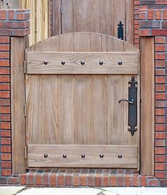 Products Fence Gate Latch & How to Build a Wooden Gate Professionally | Pinterest | Gate ...