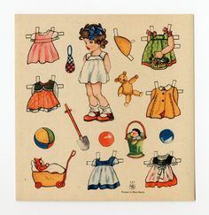 78.2620: paper doll | Paper Dolls | Dolls | National Museum of Play Online Collections | The Strong