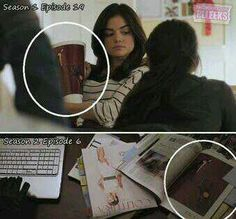 Same magazine on A's desk as in Arias hands.