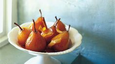 Maggie Beer's glazed pears