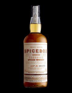 Stranger & Stranger : Spicebox #Packaging #Bottle #Alcohol