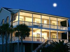 Isle Of Palms House Rental: Luxury Home - Dual Master Suites, Private Pool & Backyard, Elevator | HomeAway