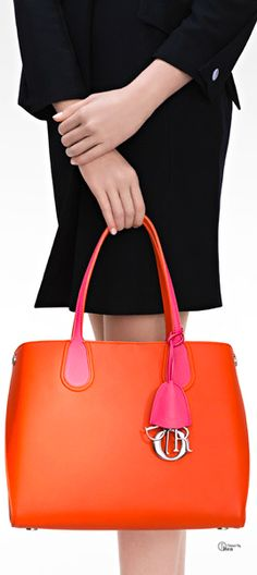 "The new and colorful ""Dior Addict Shopping Tote"""