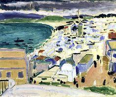Vue sur la Baie de Tanger (oil on canvas), Henri Matisse