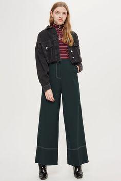 Stitch Wide Leg Pants
