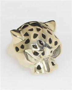 Metal Cougar Ring 7.99 | ShopluxNYC.com