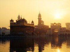 Sunrise at the Golden Temple - India