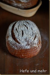 Vollkorn-Landbrot Rustic Bread, Bread Machine Recipes, Recipe Box, Pain, Muffin, Rolls, Breakfast, Buns, Kitchens