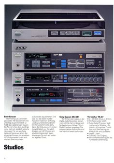 Sony catalogue (1984).....................................Please save this pin... ........................................................... Visit!.. http://www.ebay.com/usr/prestige_online