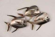 Tips Repaint Metal Fish Wall Art — Aidnature Fish Wall Art, Fish Art, Art Wall Kids, Metal Sculpture Artists, Steel Sculpture, Art Sculptures, Fish Sculpture, Cutlery Art, Welding Art Projects