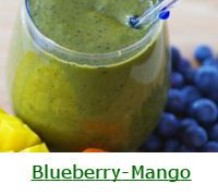 Blueberry Smoothie Recipes and Nutrition